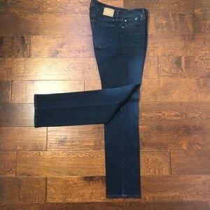 Lucky Brand Sweet Straight Leg Stretch Denim Jeans